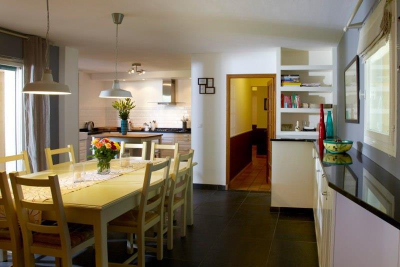 Villa i syd Frankrike - stor spisebord