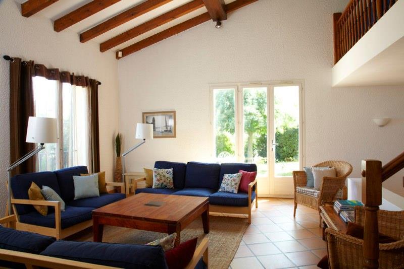 Villa i syd Frankrike - flott stua